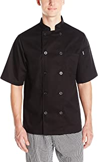 Men's Short Sleeve Unisex Classic Chef Coat