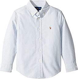 Striped Cotton Oxford Shirt (Little Kids/Big Kids)