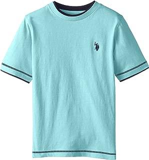 Big Boys' Double Crew Look T-Shirt