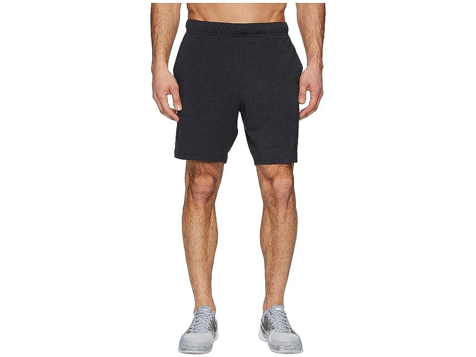 Nike Dri-FIT 8 Training Short (Black/Black/White/Metallic Hematite) Men