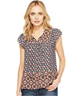 NYDJ - Mixed Border Print Blouse