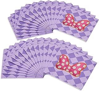purple minnie mouse decorations