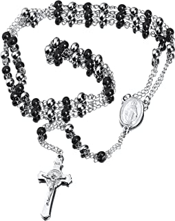Best stainless rosary necklace Reviews