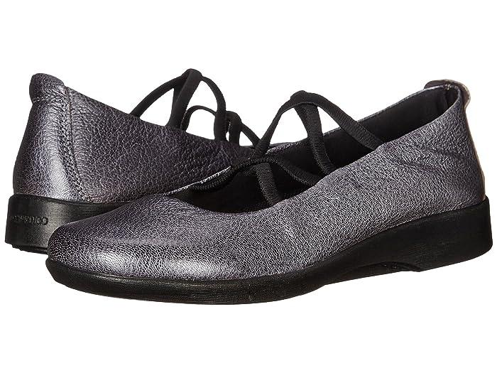 Arcopedico  Vegas (Pewter) Womens Flat Shoes