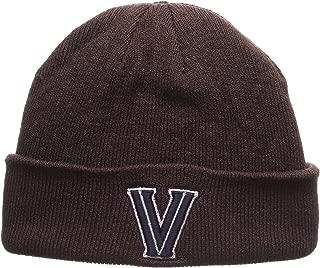 Zephyr Charcoal Gray X-RAY POP Cuff Beanie Hat - NCAA Cuffed Winter Knit Toque Cap