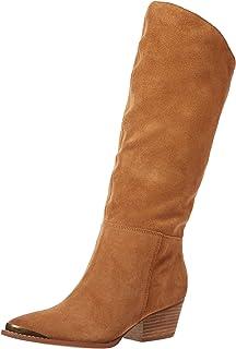 حذاء Chinese Laundry للسيدات Invincible Boot, Dark Camel Suede 6. 5 M US