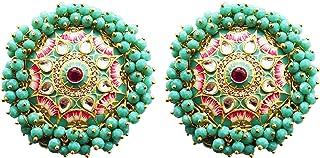 Indian Earrings for Women Round Shape