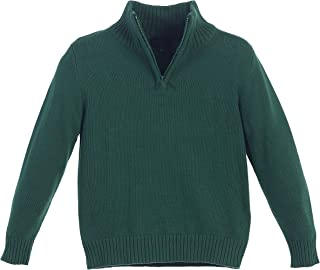 hunter green uniform sweaters