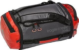 Eagle Creek Cargo Hauler Ultra-Light Convertible Duffel Bag Backpack, Flame/Asphalt