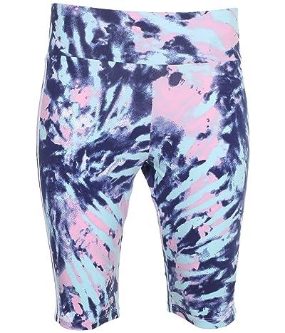 adidas Originals Bike Shorts (Multicolor/White/Vapour Blue/True Pink) Women