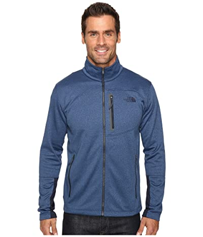 The North Face Canyonlands Full Zip (Shady Blue Heather) Men