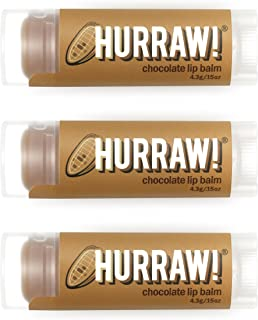 hurraw chocolate lip balm