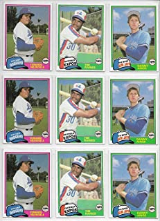 1981 Topps Traded Baseball Lot Of 3 Complete 132 Card Sets In Original Box