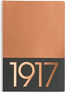 Leuchtturm1917 Medium Softcover Jottbook, 5.7 X 8.25 inches, 60 Blank Pages, Pack of 2, Copper (355539)