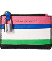 Marc Jacobs - The Grind Color Blocked Top Zip Wallet