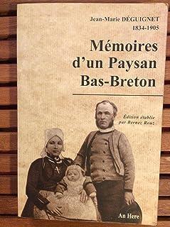 Broché - Mémoires d un paysan bas-breton