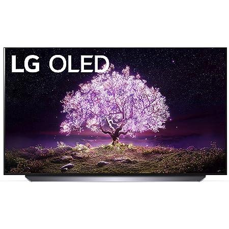"LG OLED C1 Series 55"" Alexa Built-in 4k Smart TV (3840 x 2160), 120Hz Refresh Rate, AI-Powered 4K, Dolby Cinema, WiSA Ready, Gaming Mode (OLED55C1PUB, 2021)"
