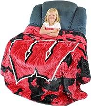 wisconsin badger blanket