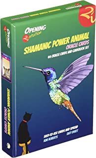 Shamanic Power Animal Oracle Cards: 44 Oracle Cards and Guidebook Set (Opening2Intuition)