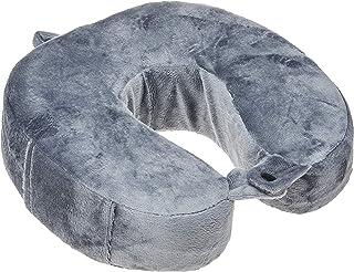 Wenger 604575 Fleece Memory Foam Travel Pillow, Grey, 28 Centimeters