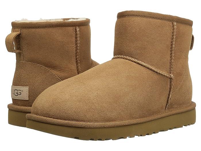 UGG  Classic Mini II (Chestnut) Womens Boots