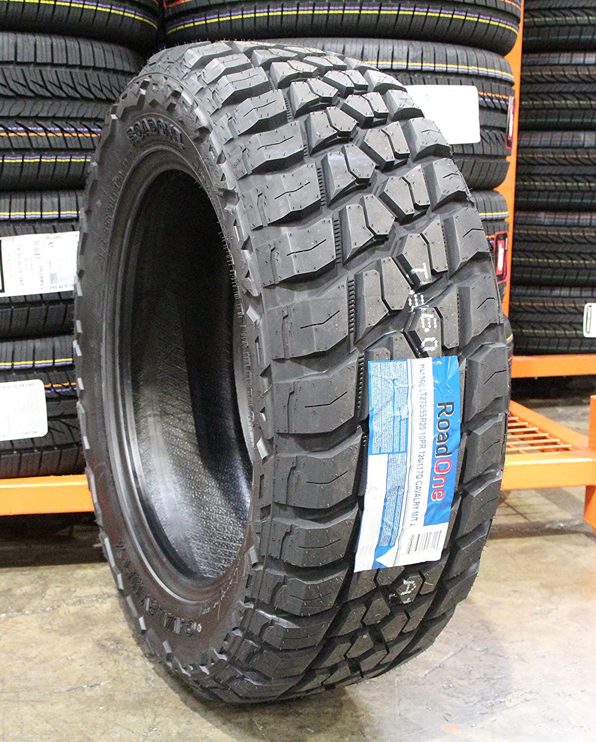 Road One Limited time cheap sale Cavalry M T X Mud 55r20 Tire RL1360 Ranking TOP15 LT275 275 55 20