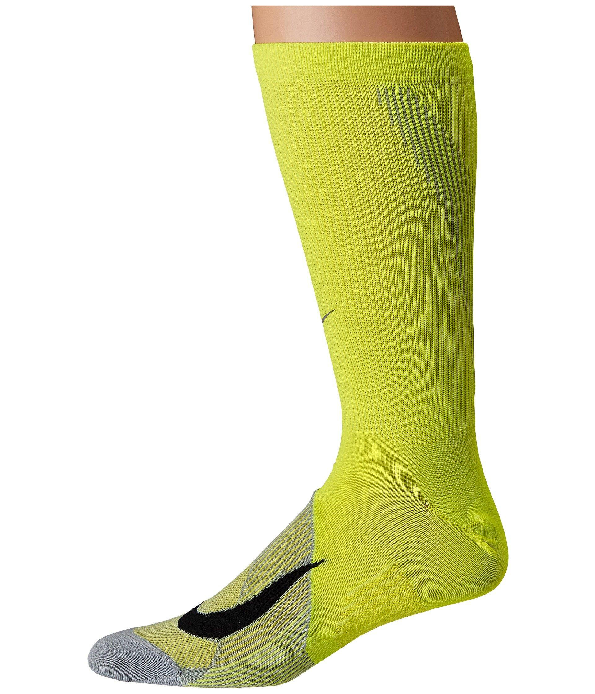 Nike Running black wolf Volt Socks Elite Crew Grey Lightweight qHcrORHC