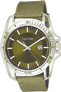 Calvin Klein Men's Analogue Quartz Watch With Textile Strap