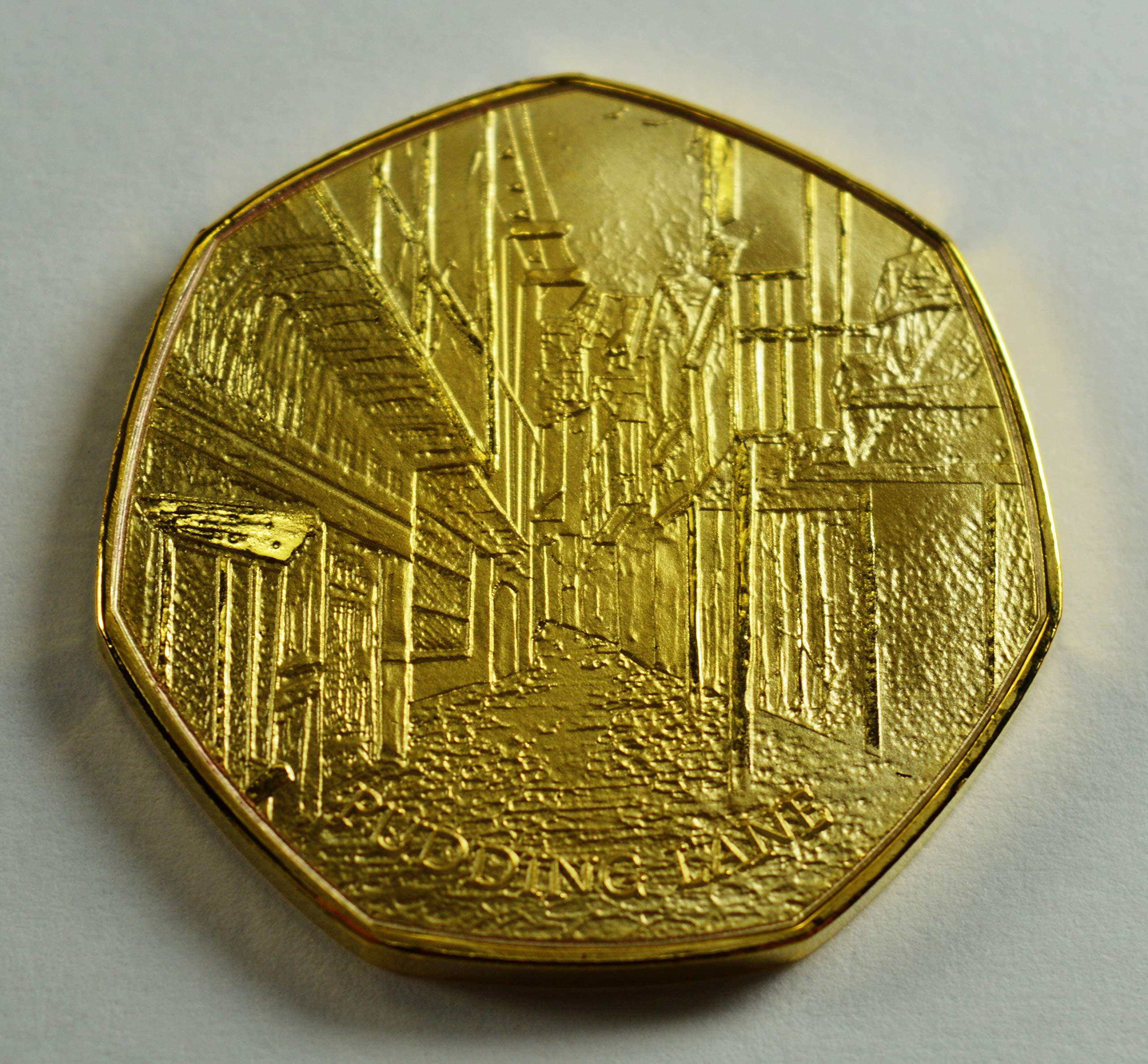 The Great Fire of London 1666 - Álbumes de Monedas conmemorativos de Oro de 24 Quilates, coleccionistas de 50p, Caza de Monedas. Pudín de Pesca: Amazon.es: Hogar