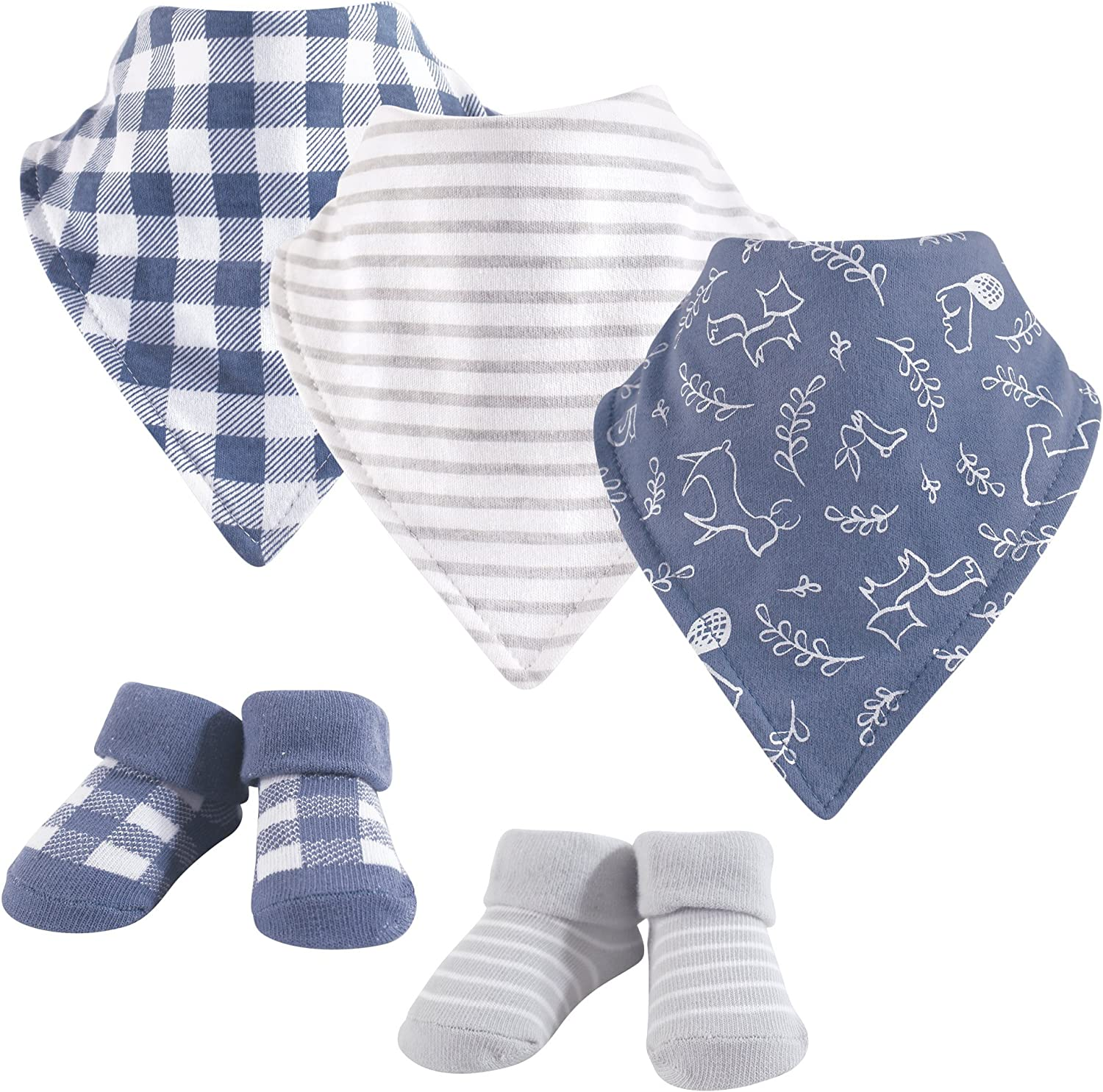 Regular dealer Yoga Sprout Unisex Baby Cotton Bibs Socks and Bandana NEW before selling ☆