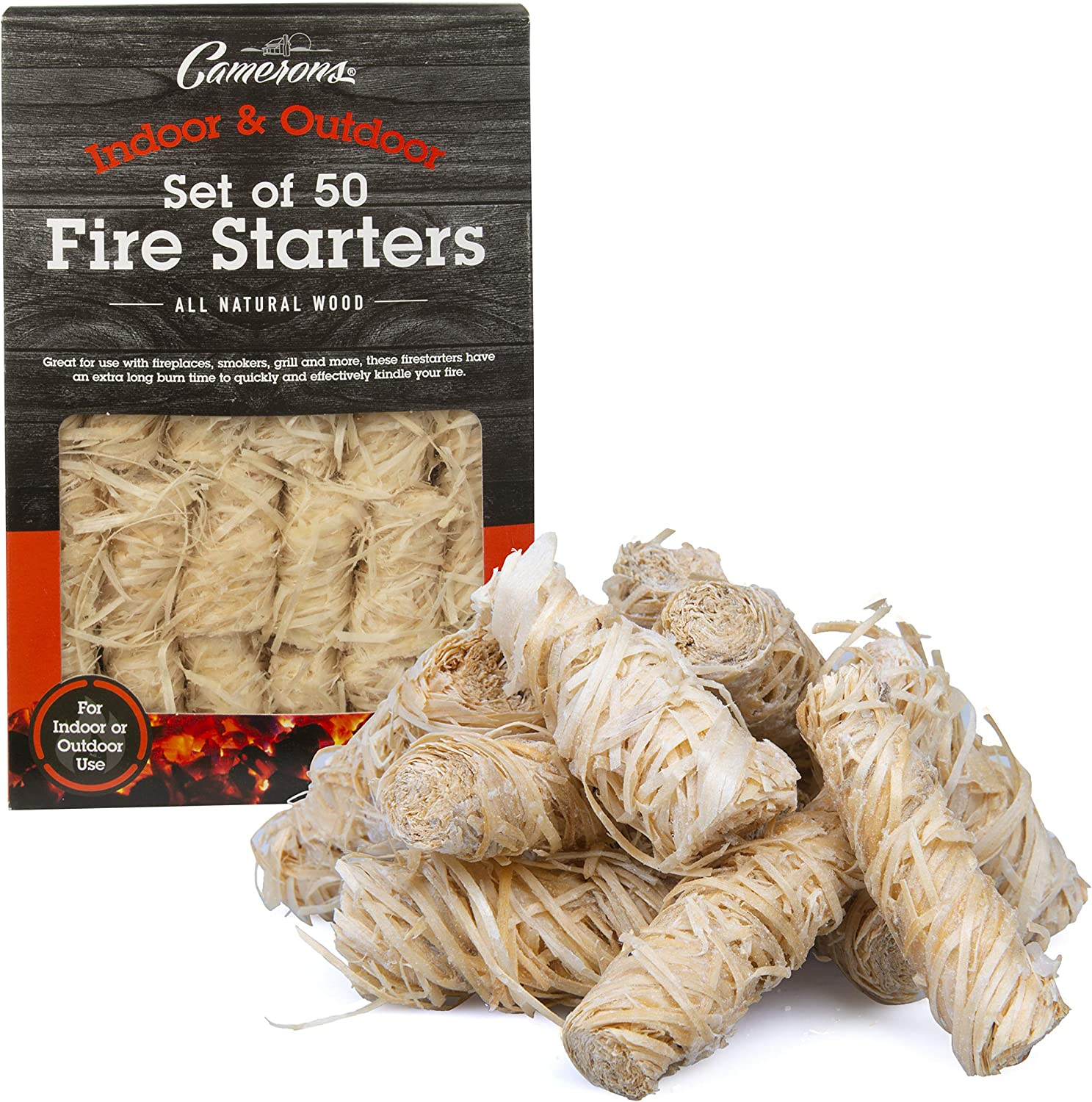 Camerons All Sales Ranking TOP20 results No. 1 Natural Firestarters- 50 Lightning Pack- Fast Light