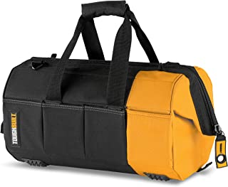 ToughBuilt tou-60-16 40,6 cm massieve mond tas, zwart/geel