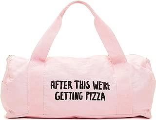 pizza gym bag