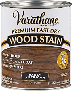 Varathane 262005 Premium Fast Dry Wood Stain, 32 oz, Early American