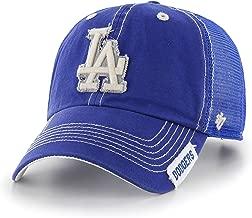 MLB Los Angeles Dodgers Turner Clean Up Adjustable Hat, One Size, Royal