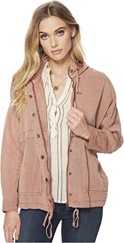 Blush Hooded Jacket