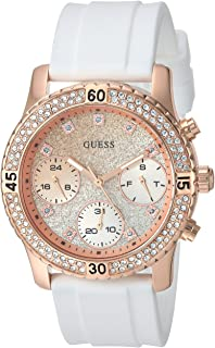 GUESS Womens Quartz Stainless Steel Casual Watch