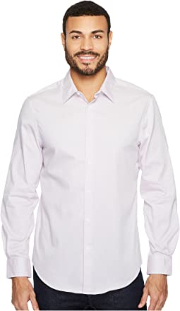 Perry Ellis - Subtle Zigzag Print Dress Shirt