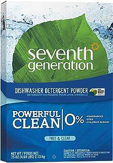 Seventh Generation - Automatic Dishwasher Powder Free & Clear 75 Oz. 72835