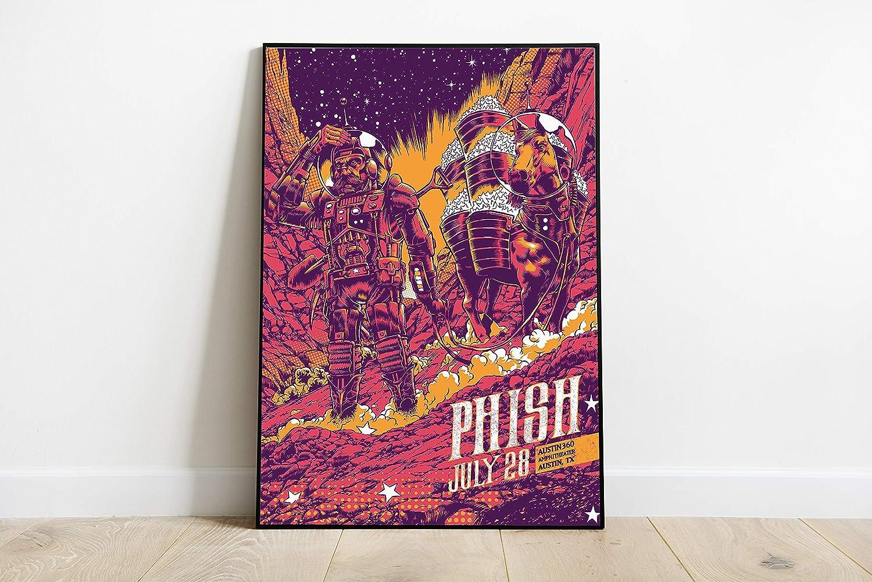 Art Picture Progressive Rock Band Decor Compatible With The Phish Poster Dorm Wall Decor Unique Design Unframed Wall Art Size - 8,5'x11' 11'x17' 18'x24' 24'x32'24