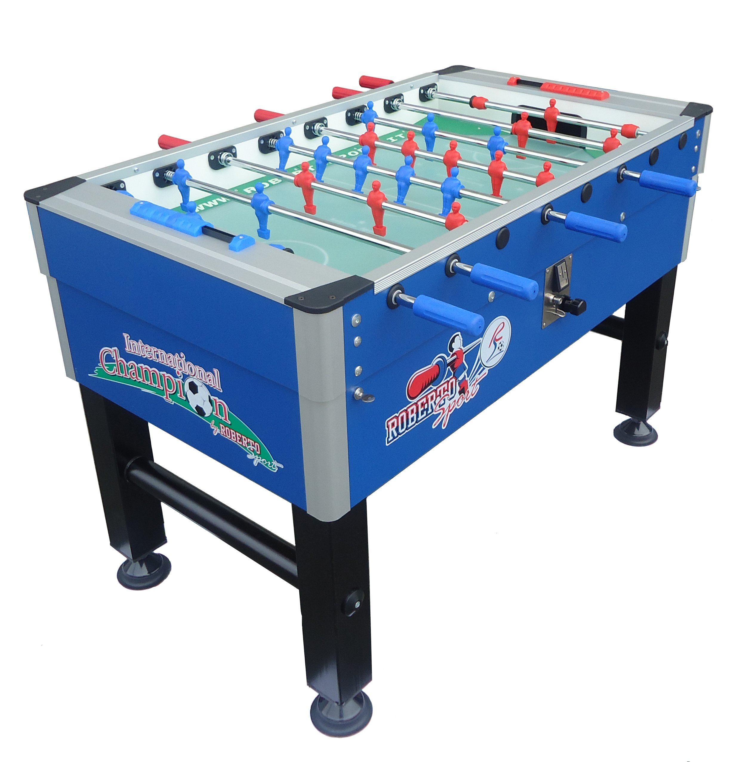 Roberto Sports International Champion - Mesa de fútbol, Color Azul ...