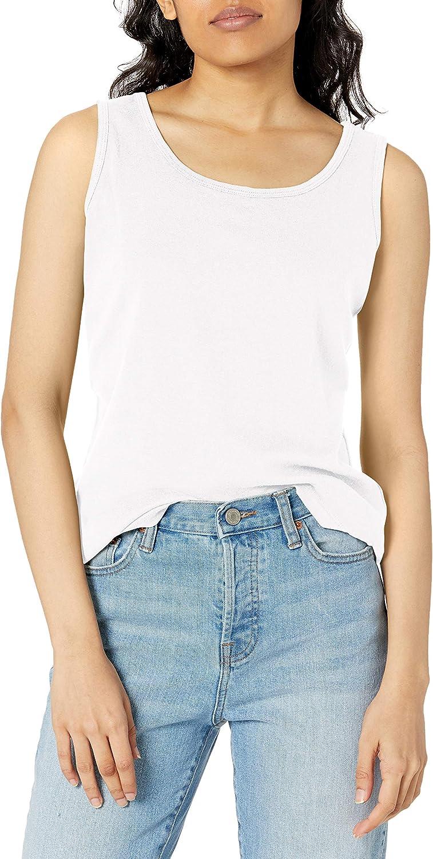 Hanes Women's Mini-Ribbed Cotton Tank