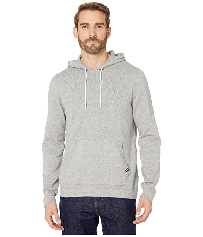 Tommy Hilfiger  Victor Popover Hoodie (Grey Heather) Mens Clothing