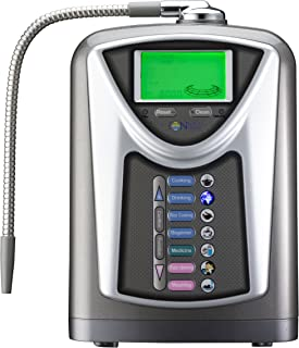 NEW IONtech IT-589 Advanced Alkaline Water Ionizer Machine 7 pH Water Levels by IntelGadgets. Japan Made Platinum Titanium Electrolysis Plates, USA Made NSF Certified Filter, PH Test Included. Best available Alkaline Water Ionizer