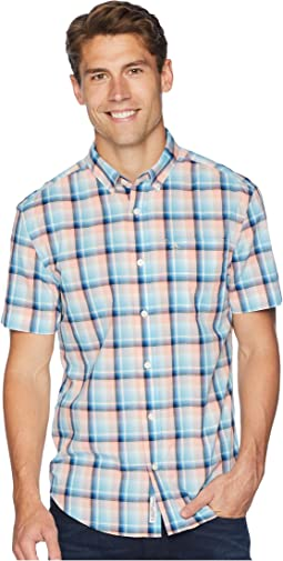 Short Sleeve Stretch P55 Plaid