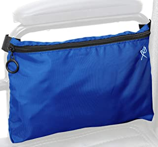 Pembrook Wheelchair Pouch Bag - Walker Accessories Storage Bags for Back Strap, Side Armrest, Scooter Seat, Manual & Motorized Electric Scooter, Wheelchairs Rollators, Other Mobility Devices