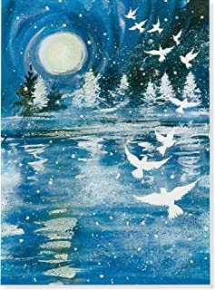 Flight of the Doves Large Boxed Holiday Cards (Christmas Cards, Greeting Cards)