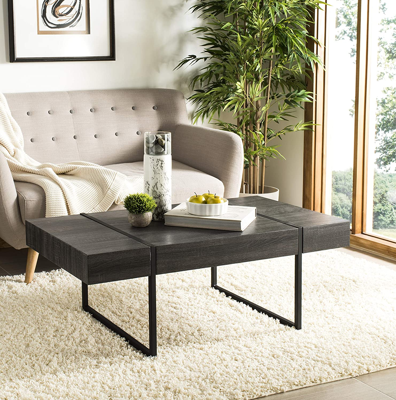 Safavieh Home Tristan Modern Table List price Ranking TOP10 Black Rustic Coffee