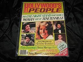 Hollywood's People Magazine (Elvis at 42 , Toni Tennille , Farrah , Nicholson , Dunaway , Burt Reynolds , Fonzie , Nolte , Soul, Volume 1 Number 5)