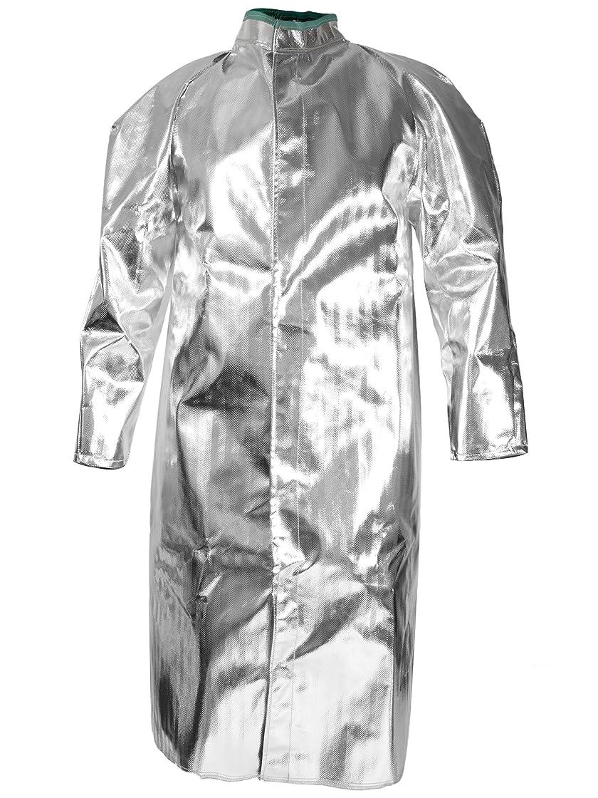 些細なメガロポリスピアニストNational Safety Apparel C17ASLG50 Acrysil Coat, 16 oz., Large, Aluminized by National Safety Apparel Inc